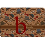 Vintage Hipster Comfort Mat (Personalized)