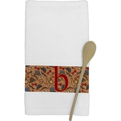 Vintage Hipster Kitchen Towel (Personalized)