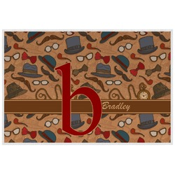 Vintage Hipster Placemat (Laminated) (Personalized)