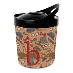 Vintage Hipster Plastic Ice Bucket (Personalized)