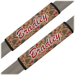 Vintage Hipster Seat Belt Covers (Set of 2) (Personalized)