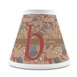 Vintage Hipster Chandelier Lamp Shade (Personalized)