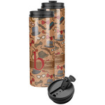 Vintage Hipster Stainless Steel Skinny Tumbler (Personalized)