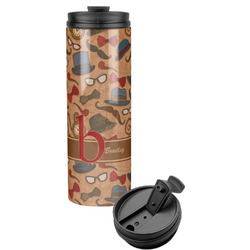 Vintage Hipster Stainless Steel Tumbler (Personalized)