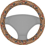 Vintage Hipster Steering Wheel Cover (Personalized)