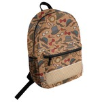 Vintage Hipster Student Backpack (Personalized)