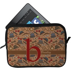 Vintage Hipster Tablet Case / Sleeve (Personalized)