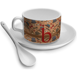 Vintage Hipster Tea Cups (Personalized)