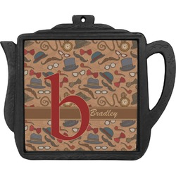Vintage Hipster Teapot Trivet (Personalized)