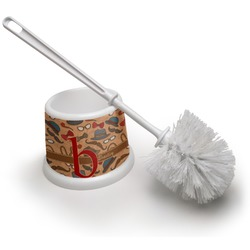 Vintage Hipster Toilet Brush (Personalized)