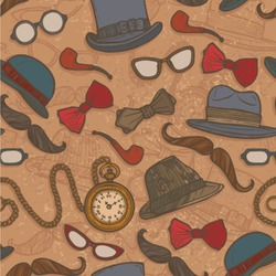 Vintage Hipster Wallpaper & Surface Covering