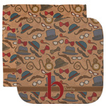 Vintage Hipster Facecloth / Wash Cloth (Personalized)