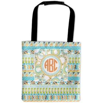 Teal Ribbons & Labels Auto Back Seat Organizer Bag (Personalized)