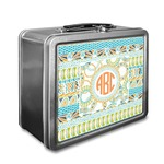 Teal Ribbons & Labels Lunch Box (Personalized)