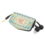 Teal Ribbons & Labels Genuine Leather Cord Wrap (Personalized)