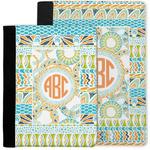 Teal Ribbons & Labels Notebook Padfolio w/ Monogram