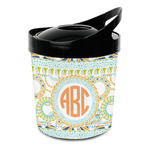 Teal Ribbons & Labels Plastic Ice Bucket (Personalized)