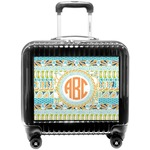 Teal Ribbons & Labels Pilot / Flight Suitcase (Personalized)