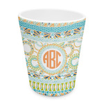 Teal Ribbons & Labels Plastic Tumbler 6oz (Personalized)