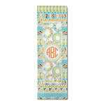 Teal Ribbons & Labels Runner Rug - 3.66'x8' (Personalized)