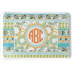 Teal Ribbons & Labels Serving Tray (Personalized)