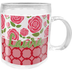 Roses Acrylic Kids Mug (Personalized)