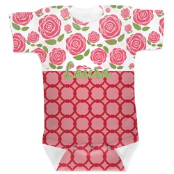 Roses Baby Bodysuit 6-12 (Personalized)