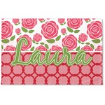 Roses Woven Mat (Personalized)