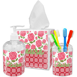 Roses Bathroom Accessories Set (Personalized)