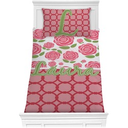 Roses Comforter Set - Twin (Personalized)