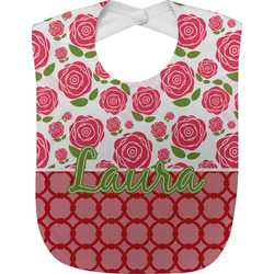Roses Baby Bib (Personalized)