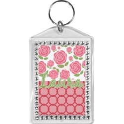 Roses Bling Keychain (Personalized)