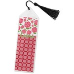 Roses Book Mark w/Tassel (Personalized)