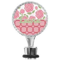 Roses Wine Bottle Stopper (Personalized)