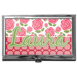 Roses Business Card Case