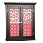 Roses Cabinet Decal - Custom Size (Personalized)