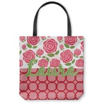 Roses Canvas Tote Bag (Personalized)