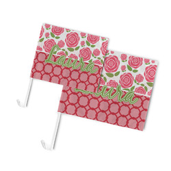 Roses Car Flag (Personalized)