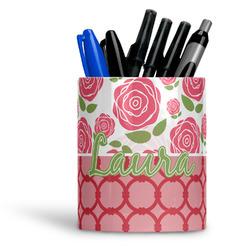 Roses Ceramic Pen Holder