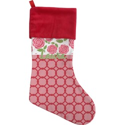 Roses Christmas Stocking (Personalized)