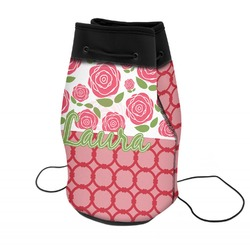 Roses Neoprene Drawstring Backpack (Personalized)