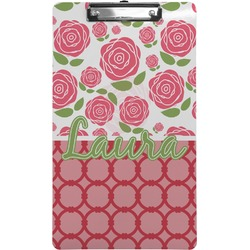 Roses Clipboard (Legal Size) (Personalized)
