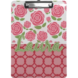 Roses Clipboard (Personalized)