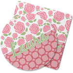 Roses Rubber Backed Coaster (Personalized)