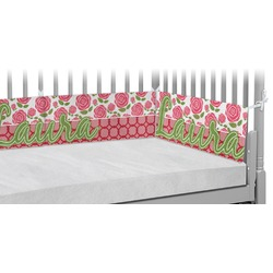 Roses Crib Bumper Pads (Personalized)