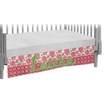 Roses Crib Skirt (Personalized)