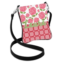 Roses Cross Body Bag - 2 Sizes (Personalized)