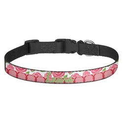 Roses Dog Collar (Personalized)
