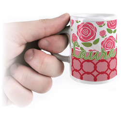 Roses Espresso Cups (Personalized)