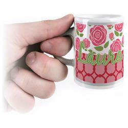 Roses Espresso Mug - 3 oz (Personalized)